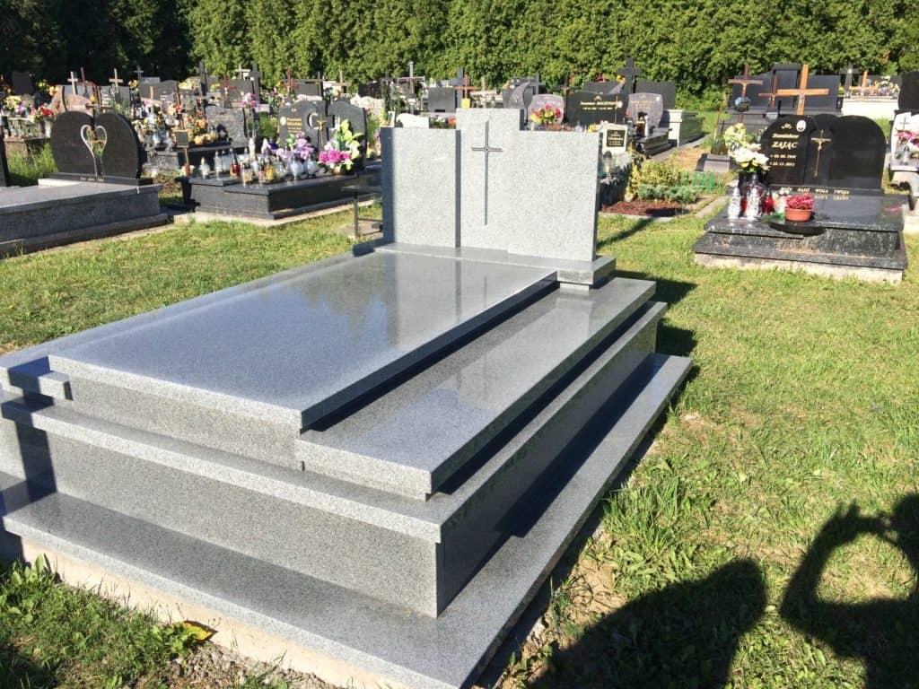 grobowiec podwójny kuru grey