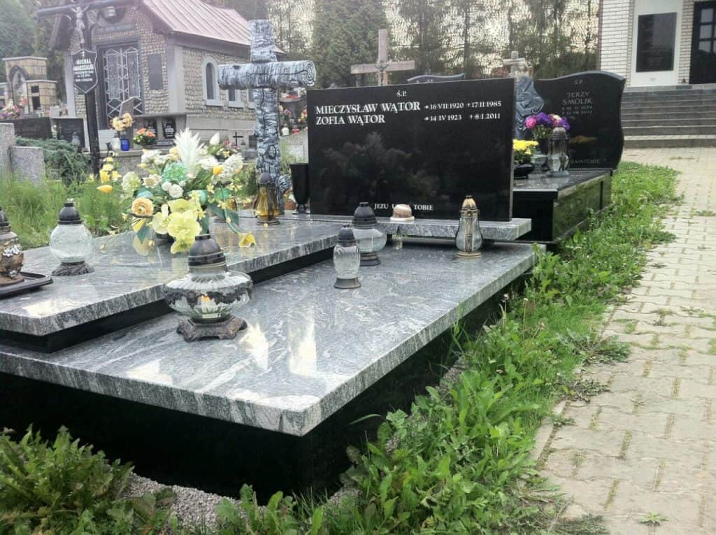 grobowiec podwójny viscount white